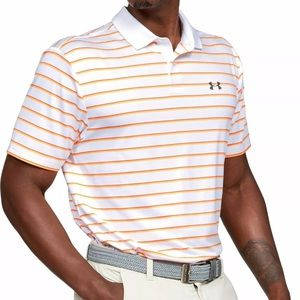 Under Armour Performance Golf Polo Divot Stripe XL